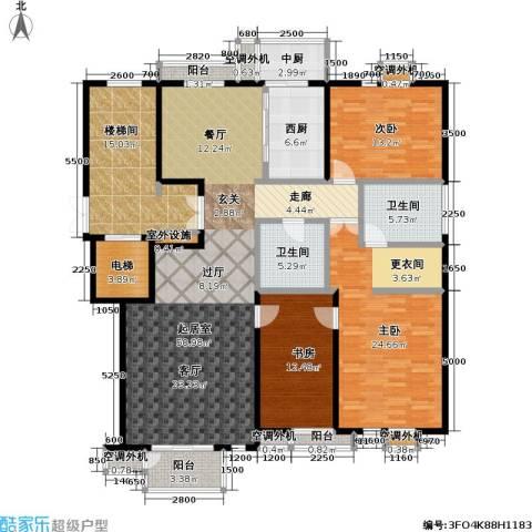 建邦华府3室0厅2卫0厨167.00㎡户型图