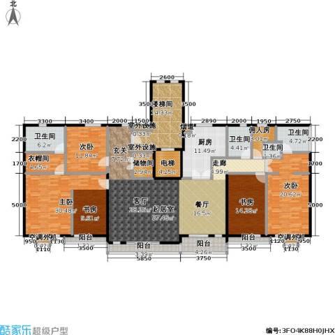 建邦华府4室0厅4卫1厨230.00㎡户型图