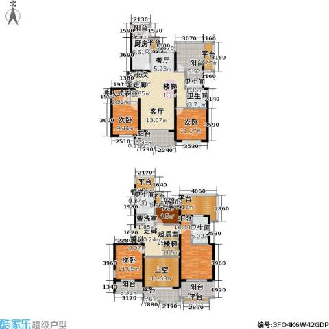 虹桥乐庭三期5室0厅4卫1厨220.00㎡户型图