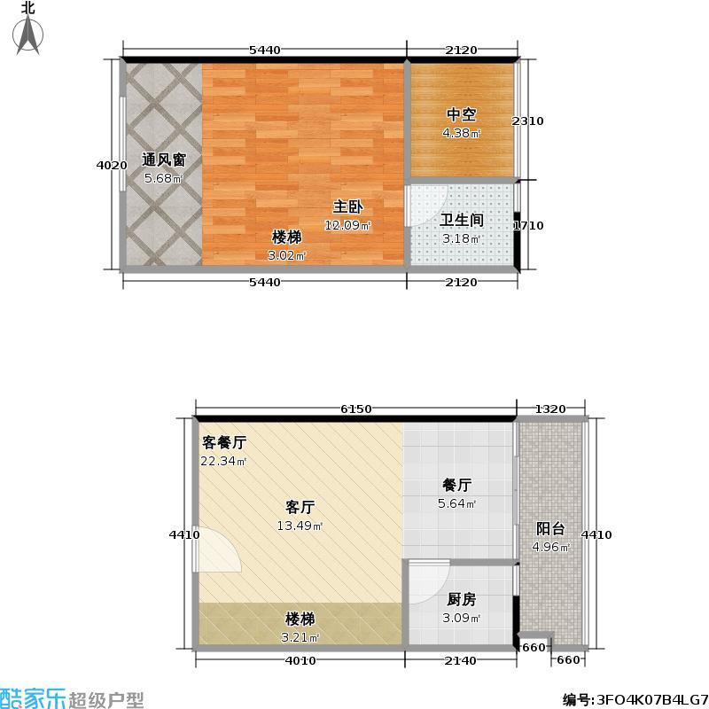理想青年荟大厦42.04㎡D07、18户型
