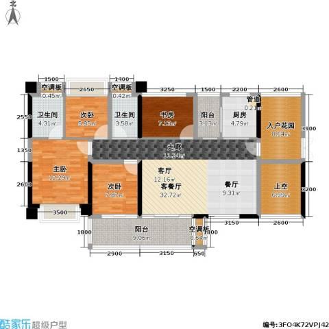 T PARK时尚公园4室1厅2卫1厨135.00㎡户型图