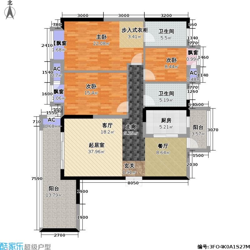 招商・江湾城招商江湾城江湾城国际公寓江湾城御澜7号楼户型