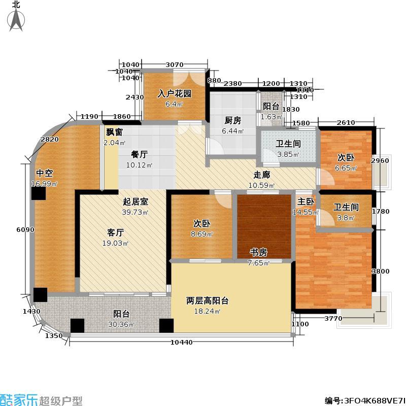 熙龙湾二期熙龙湾二期户型图5栋C座\04(69/120张)户型10室