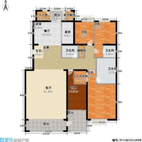 耕天下二期4室0厅3卫1厨379.00㎡户型图