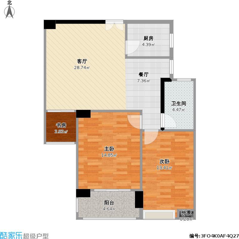 92方BC两室两厅