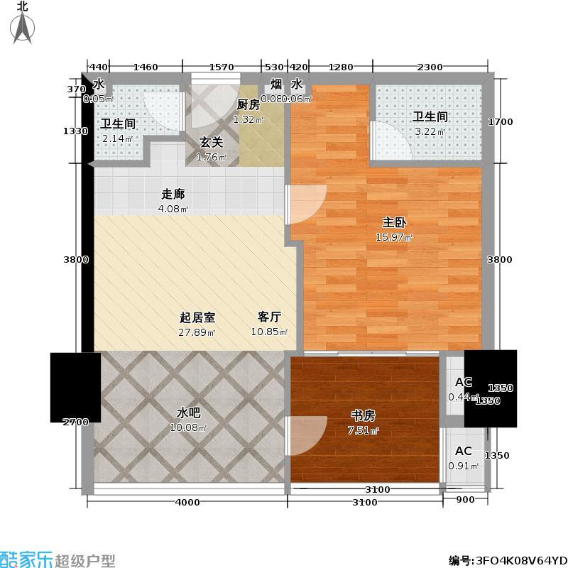 金运大厦华商时代公寓户型