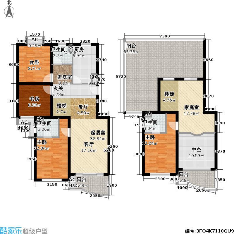 永和新城178.10㎡房型: 复式; 面积段: 178.1 -293 平方米; 户型