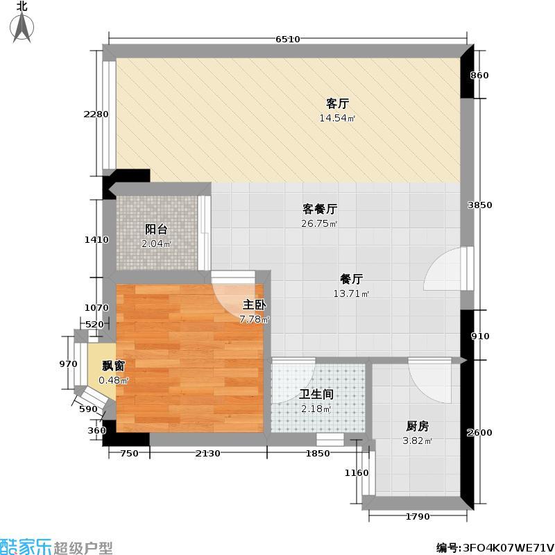 雅居乐荔尚国际E栋户型