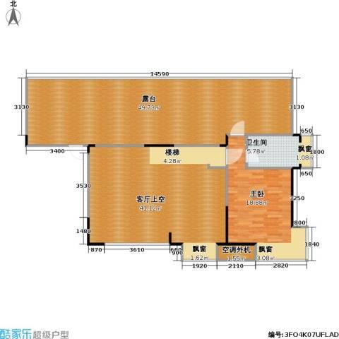 风和日丽四期1室0厅1卫0厨123.48㎡户型图
