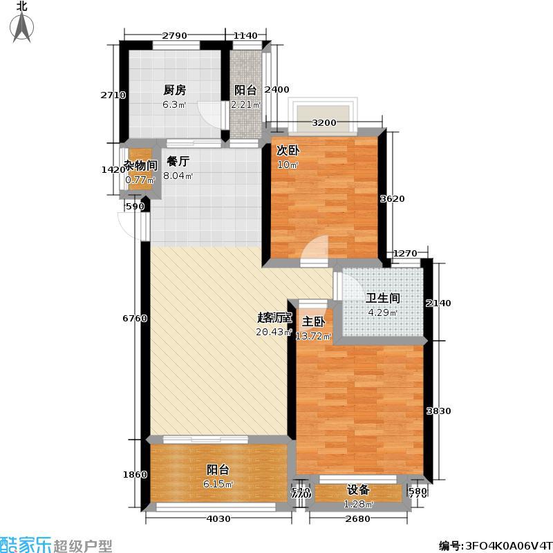 保利金爵公寓二期户型