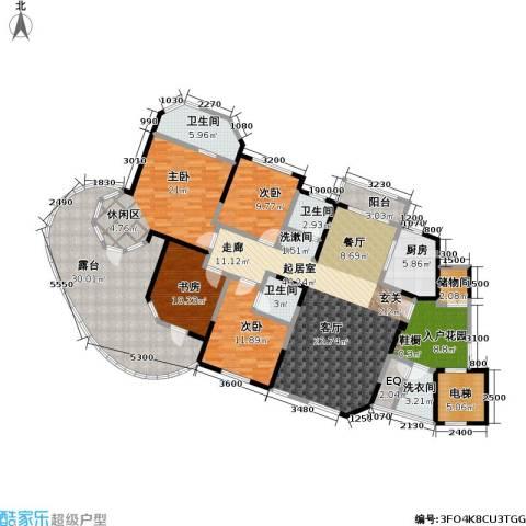 东湖品臻4室0厅3卫1厨242.00㎡户型图