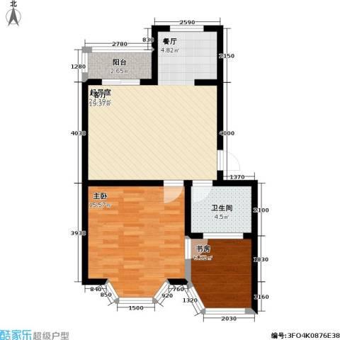 东方・波尔多庄园2室0厅1卫0厨55.00㎡户型图