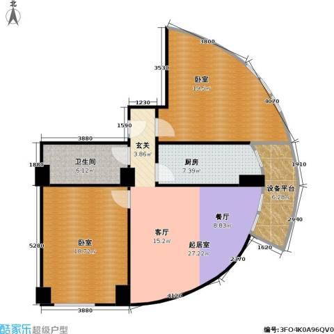 迦南公寓(尾盘)1卫1厨103.00㎡户型图