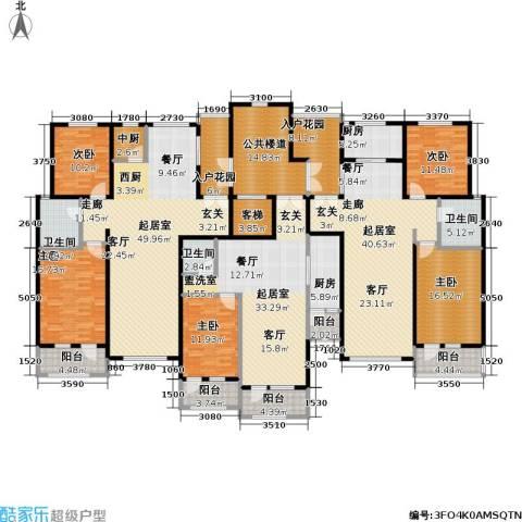 弗莱明戈5室0厅3卫2厨378.00㎡户型图