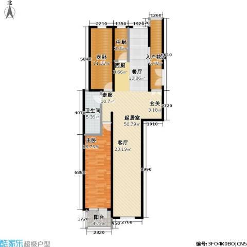 弗莱明戈2室0厅1卫0厨110.00㎡户型图