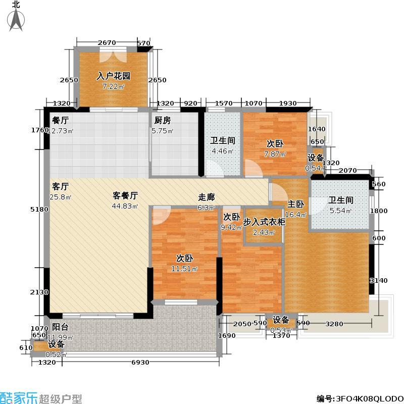 佳兆业江南大道中益丰搪瓷厂地块项目150.99㎡B-01户型