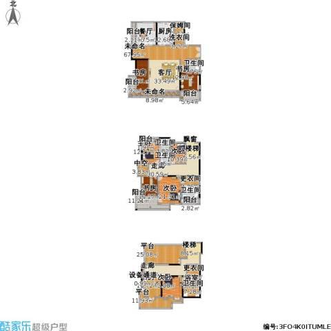 Peking House首府别墅8室1厅5卫1厨558.00㎡户型图