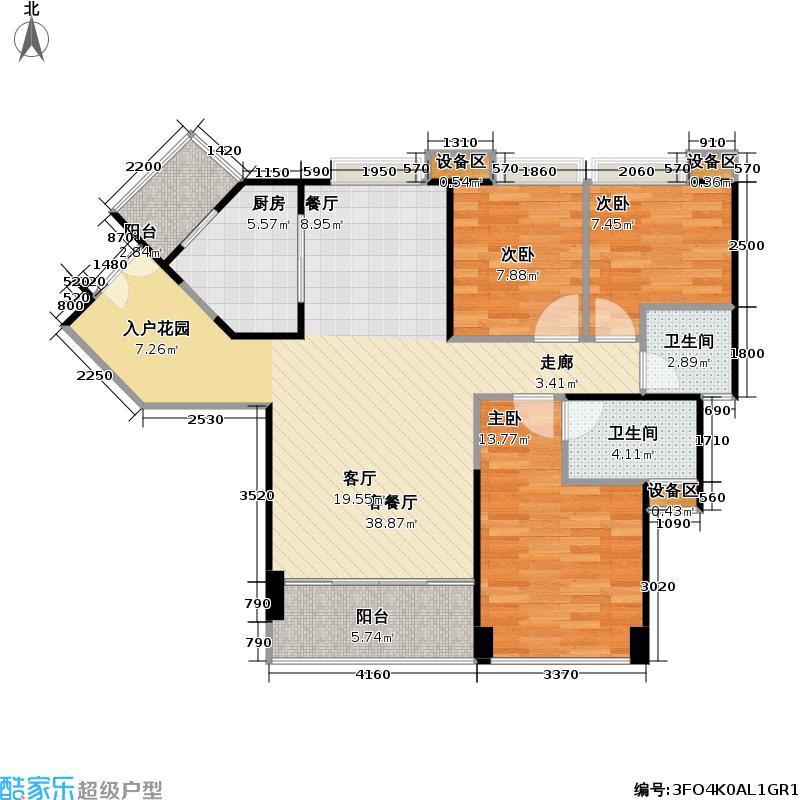 中城天邑11383户型