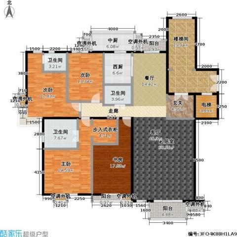 建邦华府4室0厅3卫0厨229.00㎡户型图