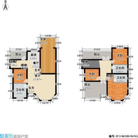 温泉国际4室1厅3卫0厨208.00㎡户型图