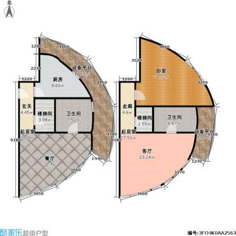 迦南公寓(尾盘)2卫1厨145.00㎡户型图