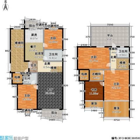 安馨园5室0厅3卫0厨252.63㎡户型图