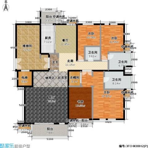 建邦华府3室0厅3卫1厨207.00㎡户型图