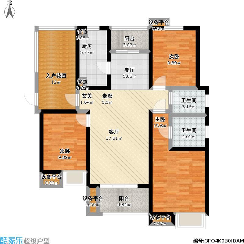 中央时区5#户型