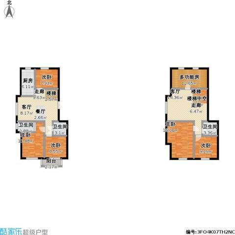 锦麟5室1厅3卫1厨149.00㎡户型图