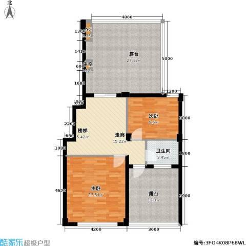 通和.都市枫林2室0厅1卫0厨141.00㎡户型图
