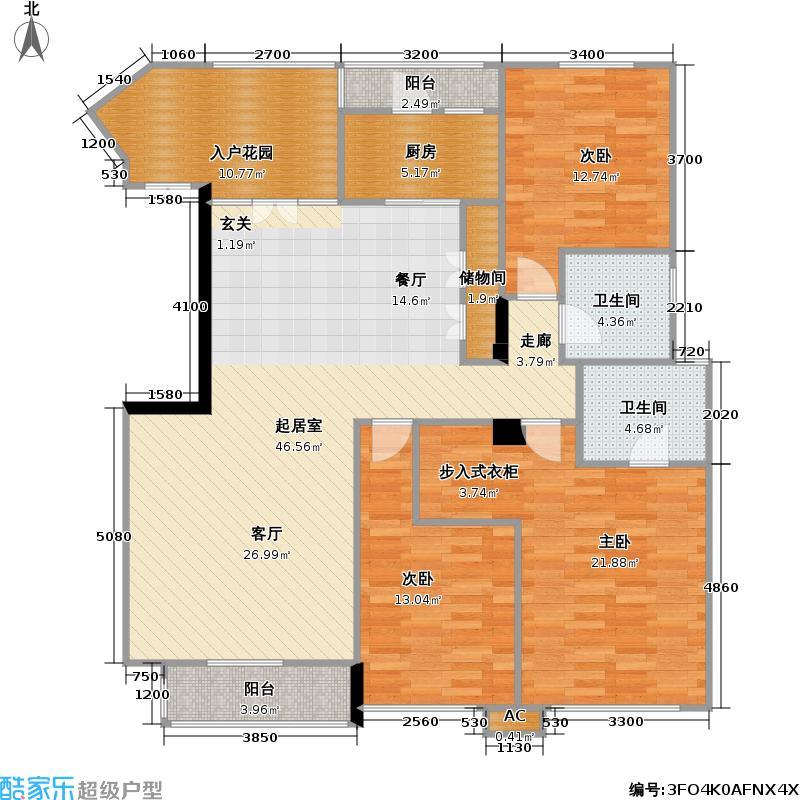 天江鼎城・博园92.83㎡房型户型