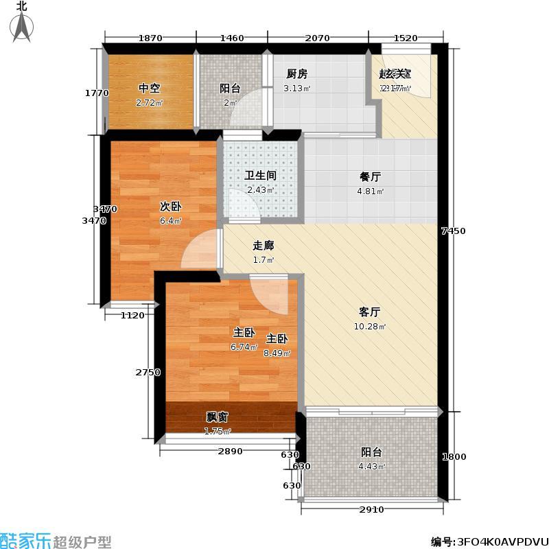 尊寓B栋-302户型