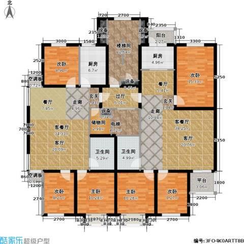 博雅馨园6室2厅2卫2厨271.00㎡户型图