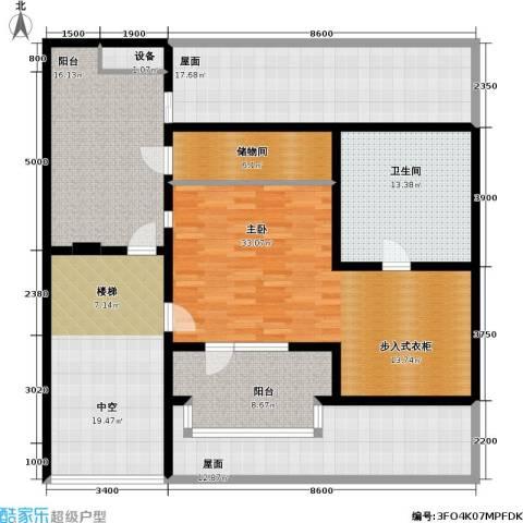 万科魅力之城1室0厅1卫0厨183.00㎡户型图