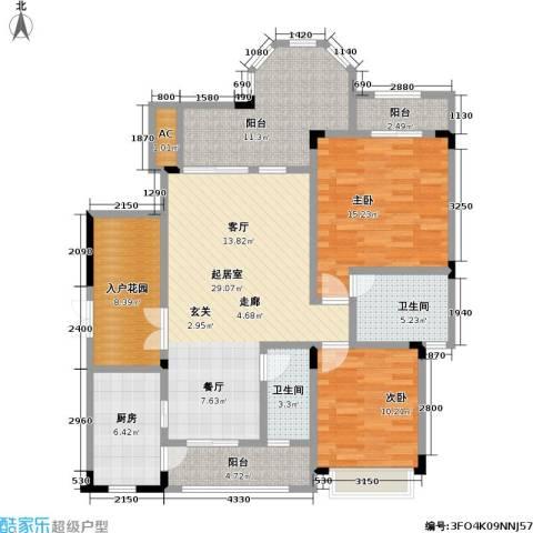 山语间二期 山语间・爱尚2室0厅2卫1厨139.00㎡户型图