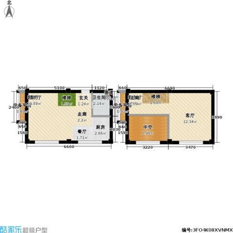 吴越新天广场2厅1卫0厨55.93㎡户型图