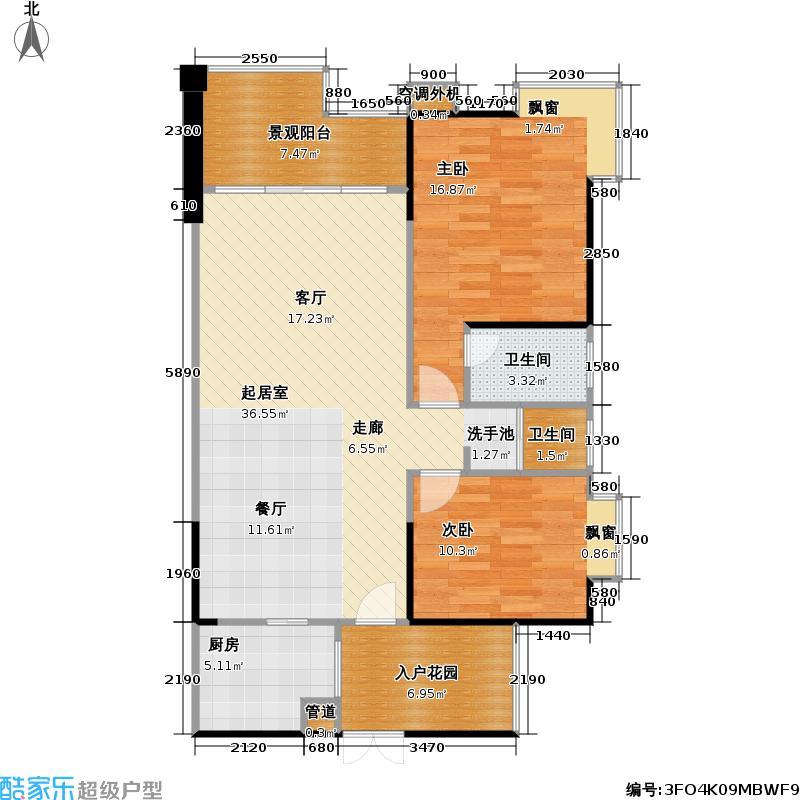 美丽山水滨江高层住宅实景现房-户型