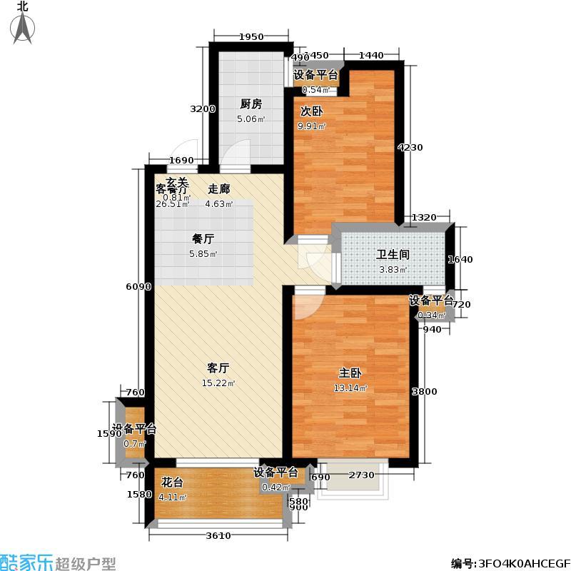 水岸江南sofa6#C奇数层户型
