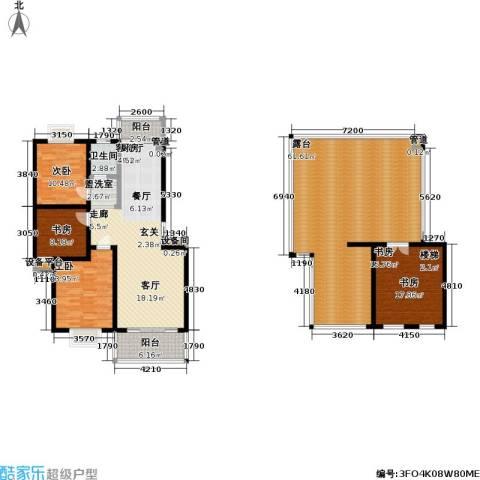 碧水云天4室1厅1卫0厨163.88㎡户型图