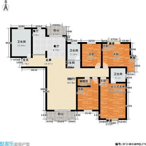 联洋新苑4室1厅3卫0厨188.00㎡户型图