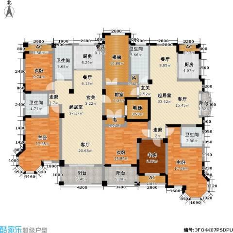 通和.都市枫林5室0厅4卫2厨304.00㎡户型图