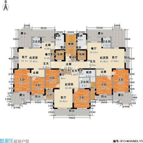 通和.都市枫林6室0厅3卫3厨489.00㎡户型图