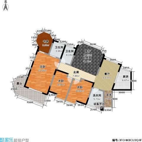 东湖品臻4室0厅2卫1厨169.00㎡户型图