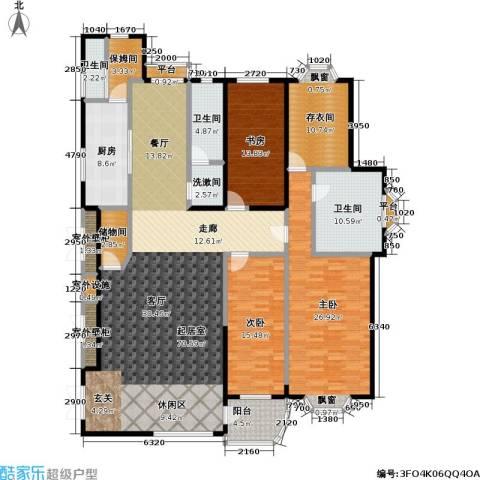 大连明珠3室0厅3卫1厨197.00㎡户型图