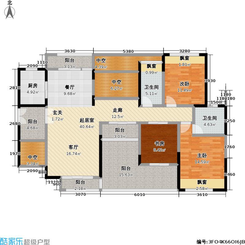 熙龙湾二期熙龙湾二期户型图A座(99/120张)户型10室