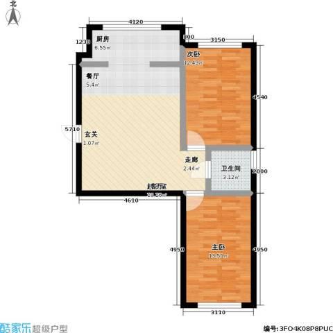 南阳小区2室0厅1卫0厨86.00㎡户型图