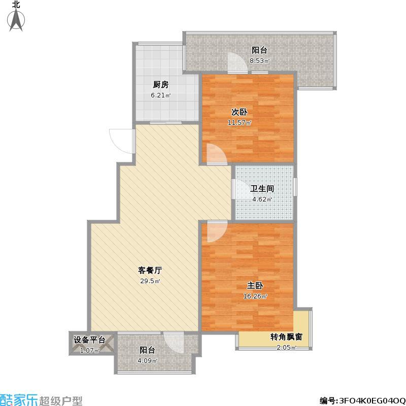 沈阳优品天地25楼H5+改后户型