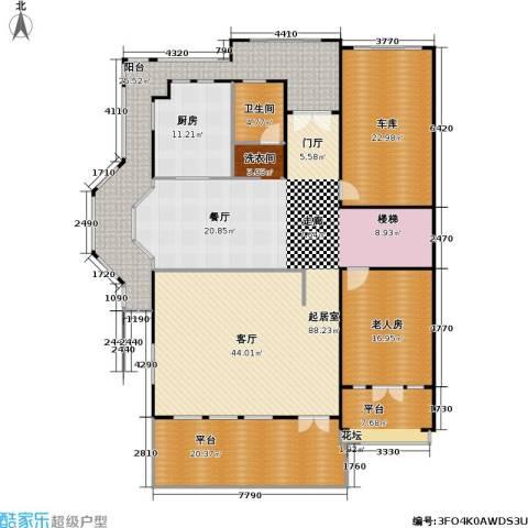 建业森林半岛1室0厅1卫1厨210.00㎡户型图