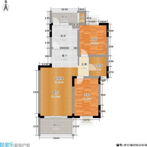 水岸雅居2室0厅1卫1厨112.00㎡户型图