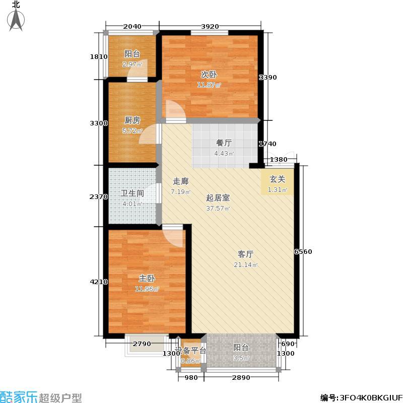 金奥新城一、二期住宅-5户型
